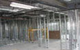 medical ctr. metal framing